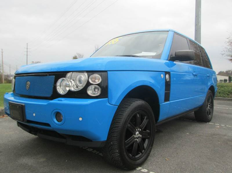 2006 LAND ROVER RANGE ROVER HSE 4DR SUV 4WD blue very rare and awesome running range rover tons