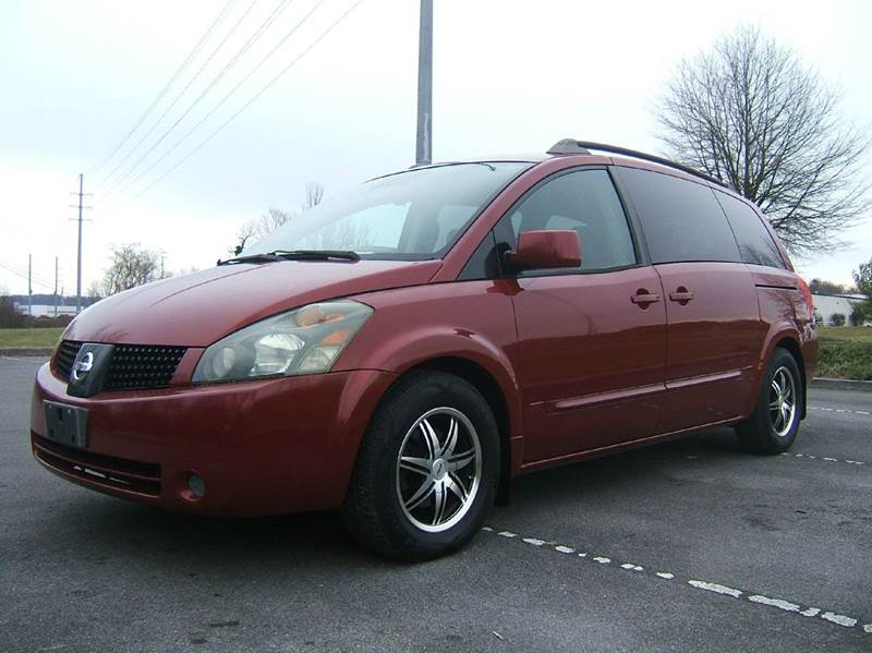 2006 NISSAN QUEST 35 S SPECIAL EDITION 4DR MINI V maroon unbelievably low low mileage nissan que