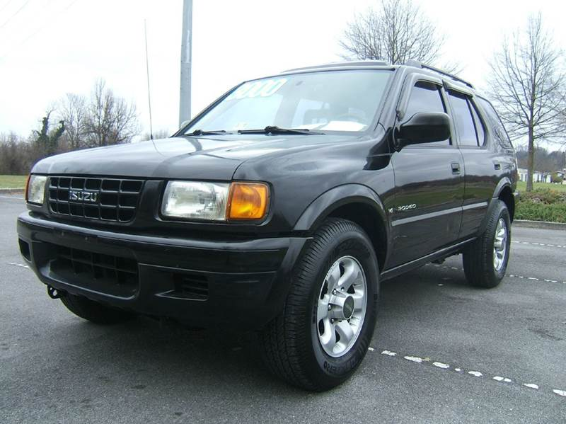 1999 ISUZU RODEO LS 4DR 4WD SUV black wow 1999 isuzu rodeo ls 4x4 priced to sell at only 29