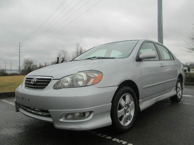 2006 TOYOTA COROLLA S 4DR SEDAN WAUTOMATIC silver super fly 2006 toyota corolla s runs and d