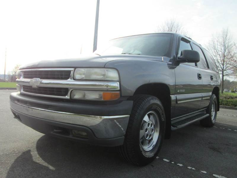 2001 CHEVROLET TAHOE LT 4WD 4DR SUV gray great running and driving chevy tahoe lt 4x4 fully