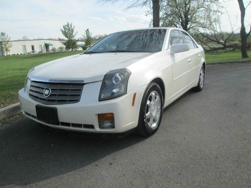 2004 CADILLAC CTS BASE 4DR SEDAN pearl white very very clean and excellent running with pearl whi