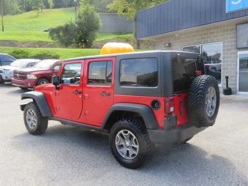 2017 Jeep Wrangler Unlimited  - Danville WV