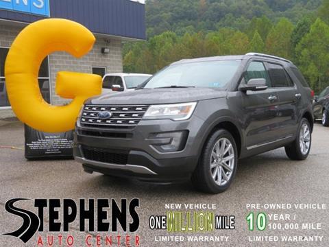 2017 Ford Explorer for sale in Danville, WV