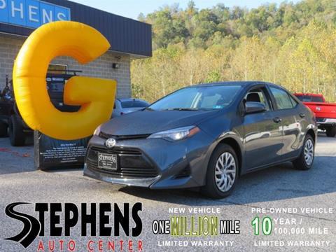 2017 Toyota Corolla for sale in Danville, WV