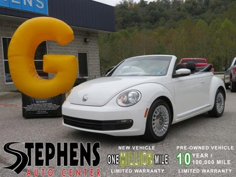 2013 Volkswagen Beetle for sale in Danville, WV