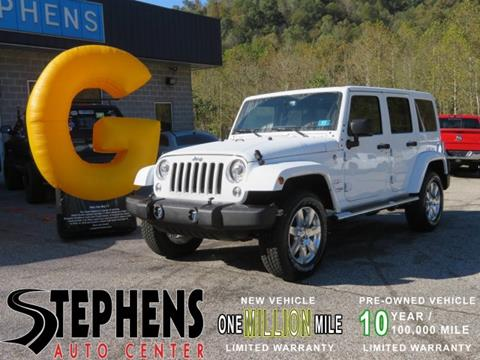 2018 Jeep Wrangler Unlimited for sale in Danville, WV