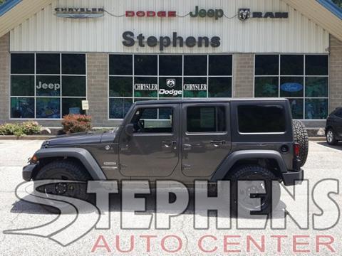 2018 Jeep Wrangler Unlimited for sale in Danville, WV