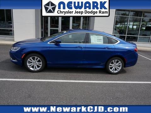 2015 Chrysler 200 for sale in Newark, DE