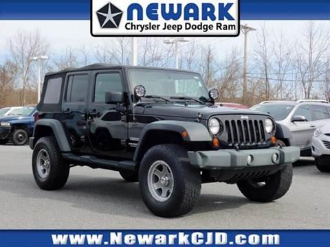 2012 Jeep Wrangler Unlimited for sale in Newark, DE