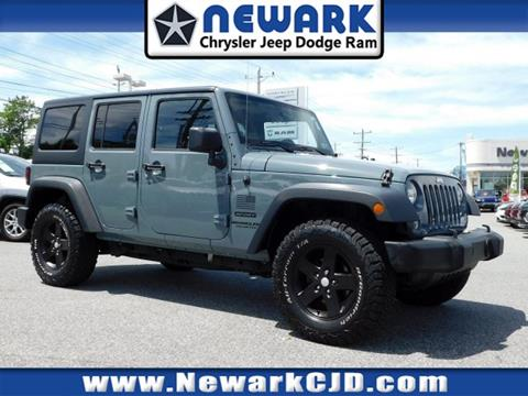 2014 Jeep Wrangler Unlimited for sale in Newark, DE