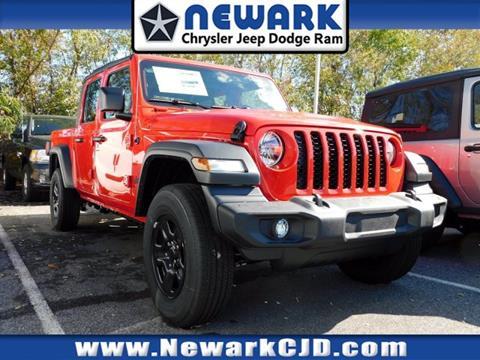2020 Jeep Gladiator for sale at NEWARK CHRYSLER JEEP DODGE in Newark DE