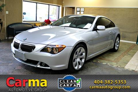BMW Series For Sale Carsforsalecom - Bmw 645 convertible for sale