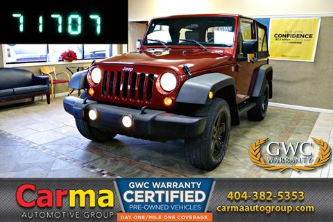 2010 Jeep Wrangler for sale in Duluth, GA