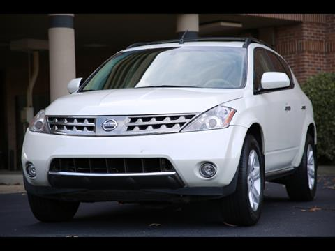 2007 Nissan Murano for sale in Duluth, GA