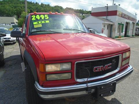 1998 GMC Sierra 2500 for sale in Fitchburg, MA
