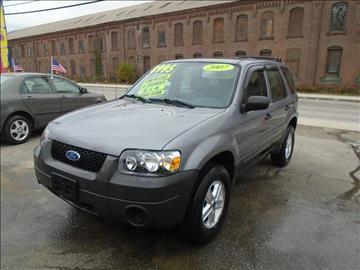 2007 Ford Escape for sale in Fitchburg, MA