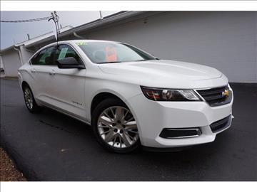 2016 Chevrolet Impala for sale at Payne Chevrolet in Springfield TN