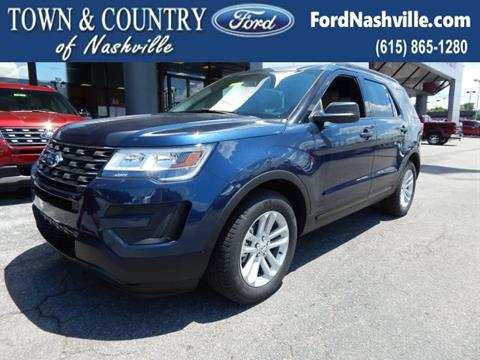 2017 Ford Explorer for sale in Madison, TN