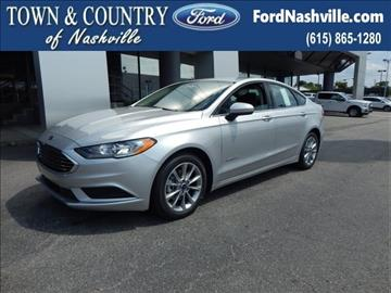 2017 Ford Fusion Hybrid for sale in Madison, TN