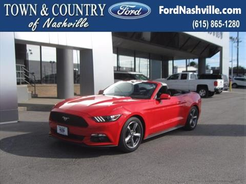 2016 Ford Mustang for sale in Madison, TN