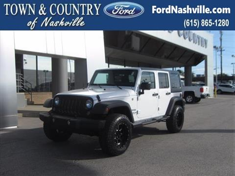 2016 Jeep Wrangler Unlimited for sale in Madison TN