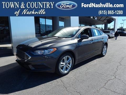 2018 Ford Fusion for sale in Madison, TN