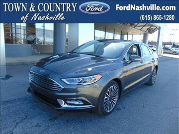 2017 Ford Fusion for sale in Madison, TN