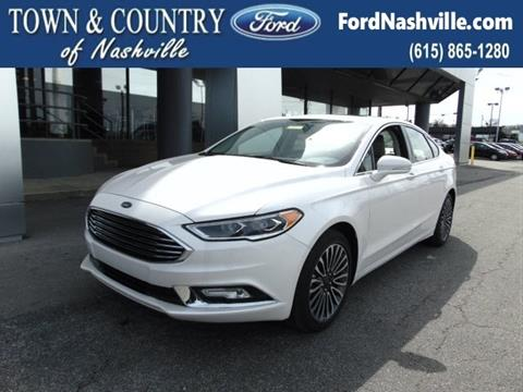 2017 Ford Fusion for sale in Madison TN