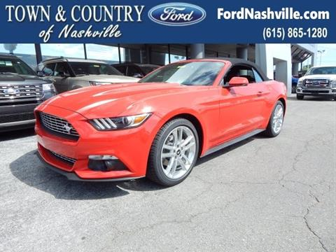 2017 Ford Mustang for sale in Madison TN