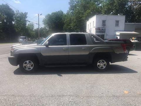 2002 Chevrolet Avalanche for sale in Belvidere, NJ
