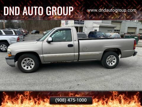 2000 Chevrolet Silverado 1500 for sale at DND AUTO GROUP in Belvidere NJ