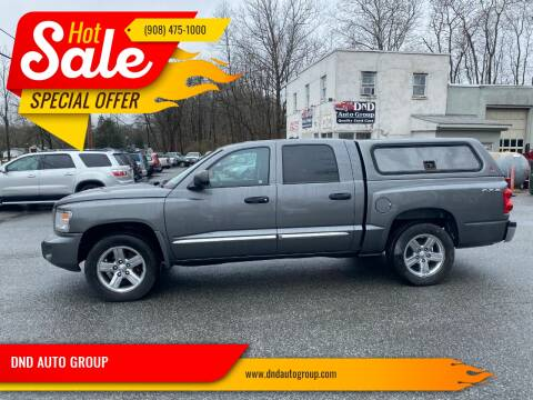 2008 Dodge Dakota for sale at DND AUTO GROUP in Belvidere NJ