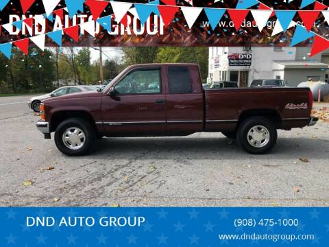 1999 Chevrolet C/K 1500 Series for sale at DND AUTO GROUP in Belvidere NJ
