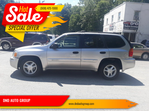 2005 GMC Envoy for sale at DND AUTO GROUP in Belvidere NJ