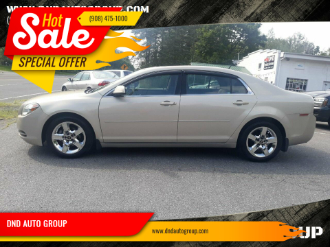2010 Chevrolet Malibu for sale at DND AUTO GROUP 2 in Asbury NJ