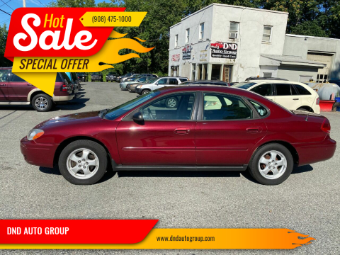 2007 Ford Taurus for sale at DND AUTO GROUP in Belvidere NJ