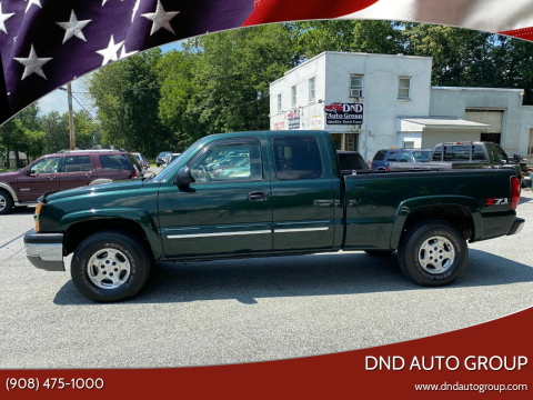 2004 Chevrolet Silverado 1500 for sale at DND AUTO GROUP in Belvidere NJ