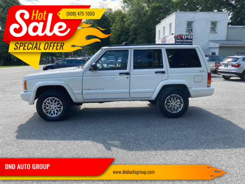 1997 Jeep Cherokee for sale at DND AUTO GROUP in Belvidere NJ