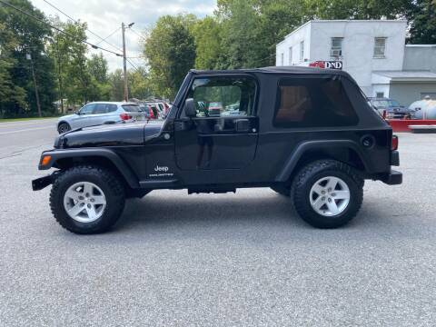 2004 Jeep Wrangler for sale at DND AUTO GROUP in Belvidere NJ