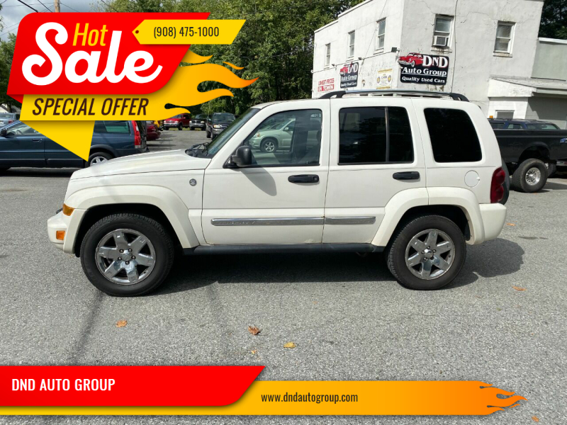 2005 Jeep Liberty for sale at DND AUTO GROUP in Belvidere NJ