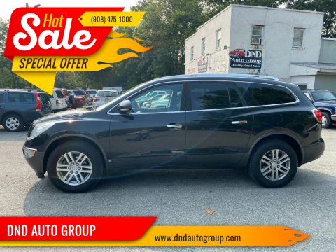 2009 Buick Enclave for sale at DND AUTO GROUP in Belvidere NJ