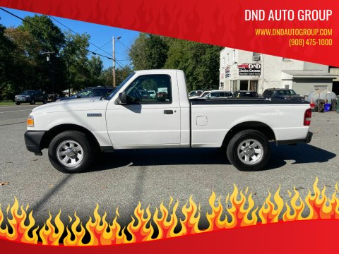 2010 Ford Ranger for sale at DND AUTO GROUP in Belvidere NJ