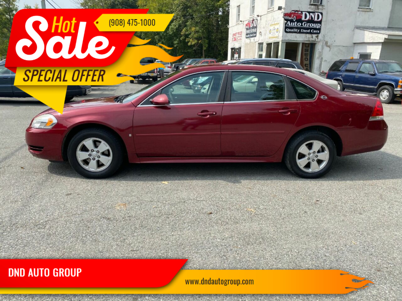2009 Chevrolet Impala for sale at DND AUTO GROUP in Belvidere NJ