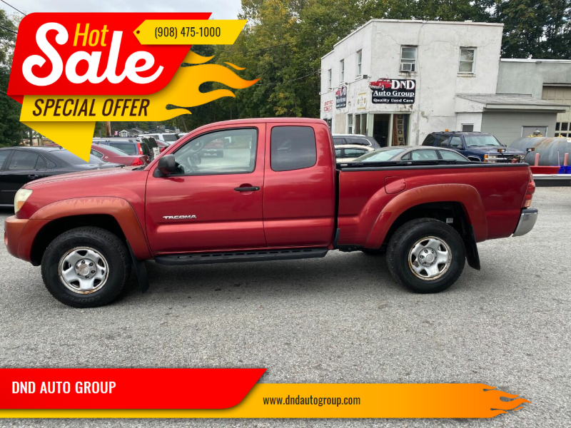 2006 Toyota Tacoma for sale at DND AUTO GROUP in Belvidere NJ