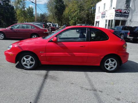2001 Daewoo Lanos for sale at DND AUTO GROUP in Belvidere NJ