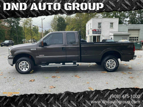 2005 Ford F-250 Super Duty for sale at DND AUTO GROUP in Belvidere NJ
