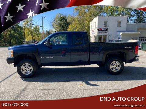 2009 Chevrolet Silverado 1500 for sale at DND AUTO GROUP in Belvidere NJ