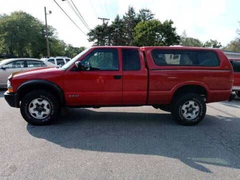 2001 Chevrolet S-10 for sale at DND AUTO GROUP 2 in Asbury NJ