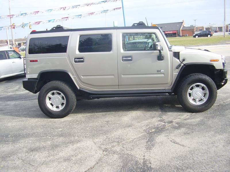 2003 Hummer H2 4dr Lux Series 4wd Suv In Green Bay Wi East Town Auto